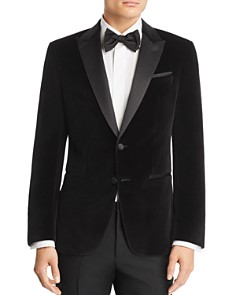 BOSS Hugo Boss - Helward Velvet with Satin Lapel Slim Fit Tuxedo Jacket